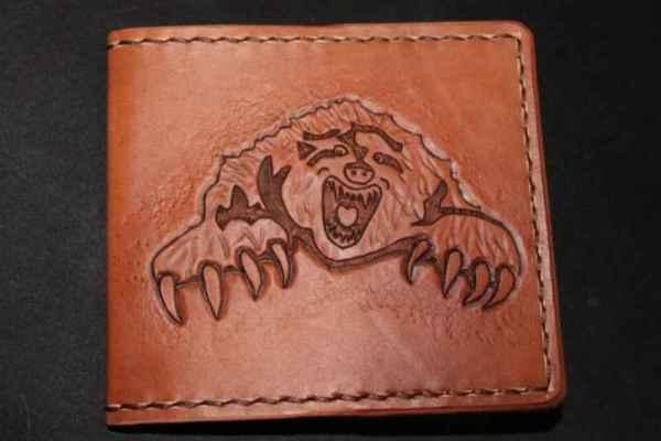 Обложка с рисунком медведя