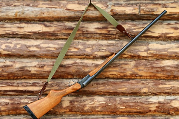 Ружье на стене
