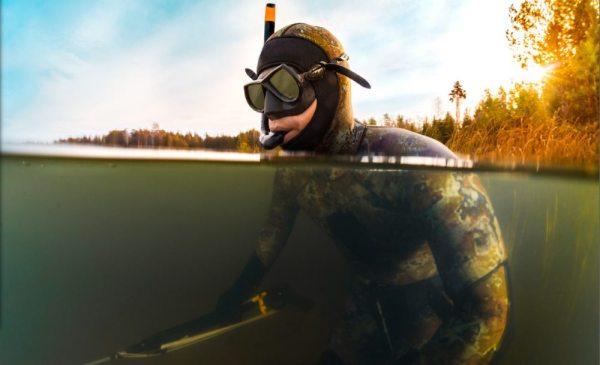 Погружение в воду