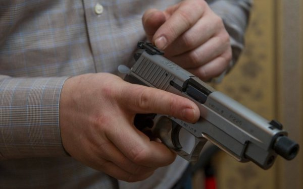 Обучение работе с пистолетом