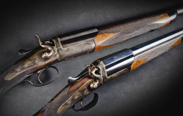 Старинные ружья