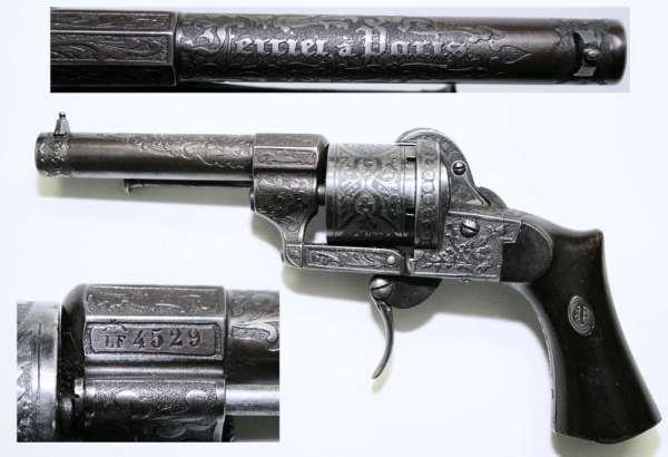Старинный револьвер