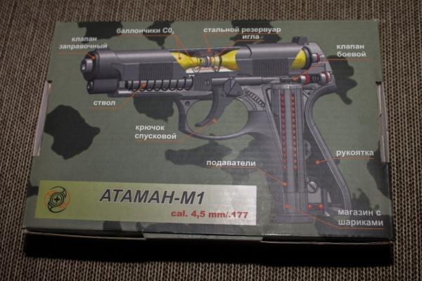 Пистолет Атаман