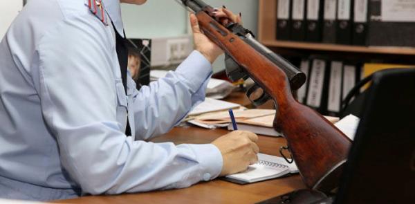 Оформление оружия