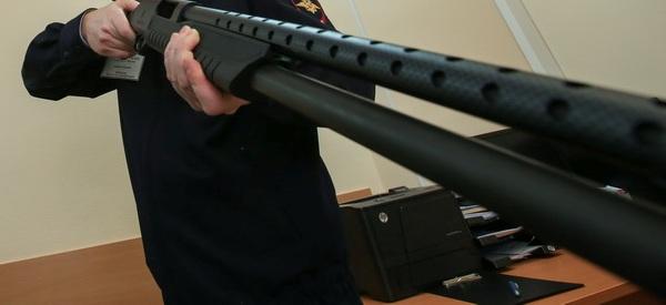 Проверка оружия сотрудниками полиции