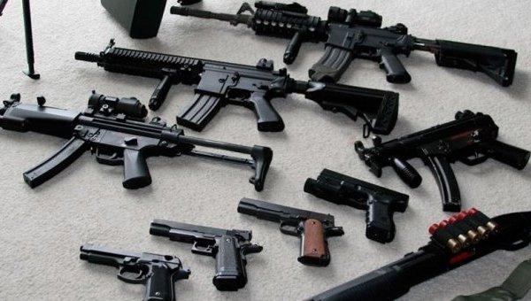 Разные виды оружия