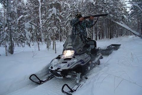Зимняя охота в тайге