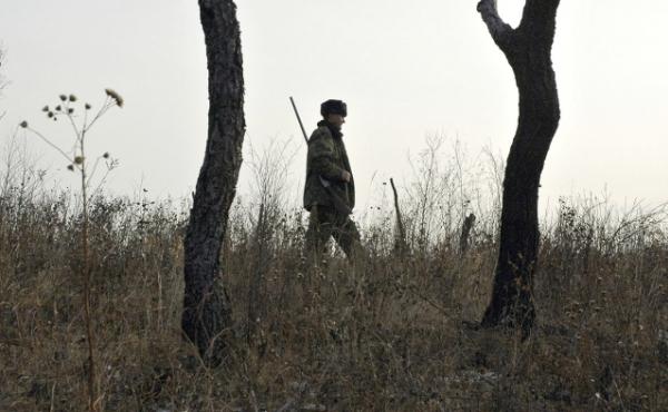 Охотник в поисках удачного места