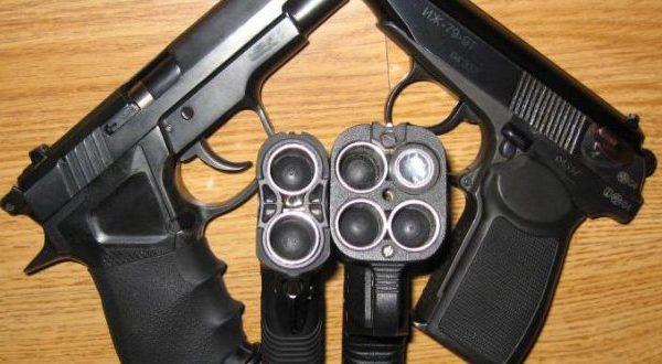 Популярные виды пистолетов