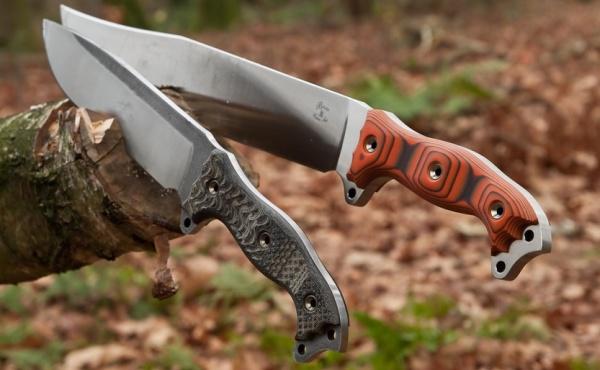 Ножи в дереве