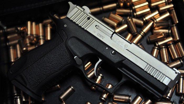 Пистолет и патроны к нему