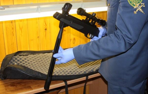 Осмотр пневматического оружия