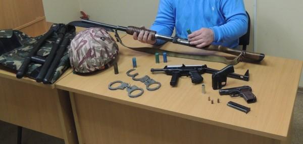 Обучение работе с оружием