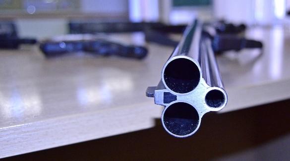 Оружие на проверке в отделе ЛРР