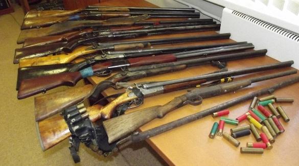 Ружья охотников