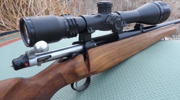 Ружье с оптикой