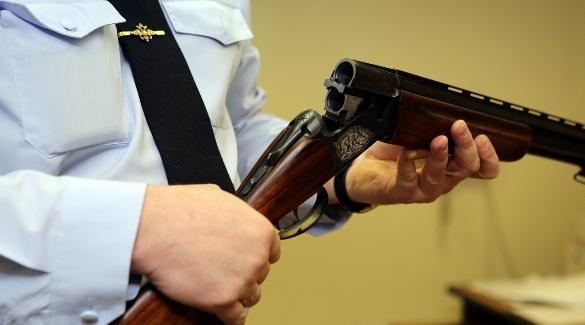Ружье на проверке