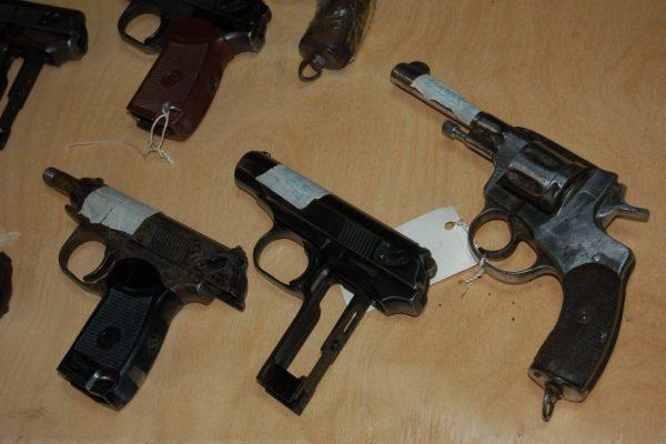 Пистолеты на учете