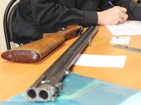 Регистрация ружья
