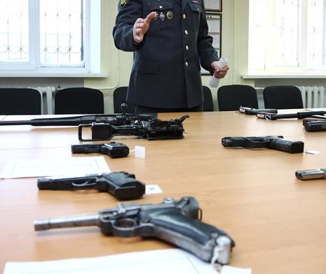 Оружие на проверке