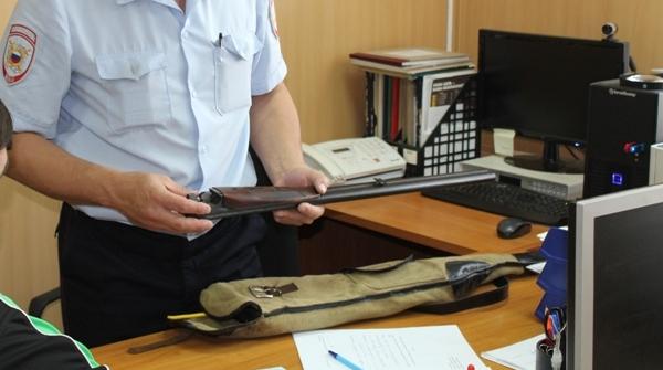 Оружие в разрешительном отделе