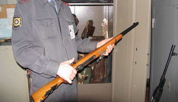 Сейф и оружие