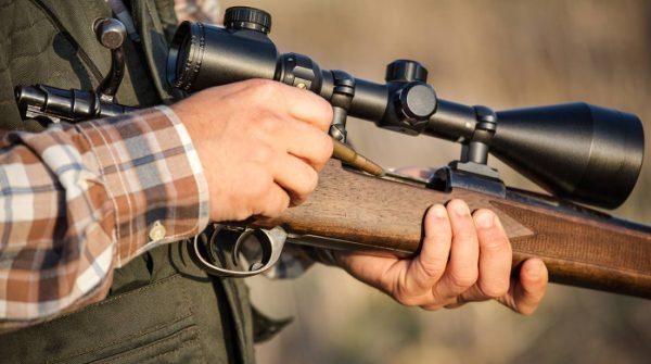 Нарезное ружье охотника