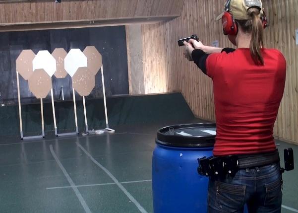 Обучение стрельбе из пистолета