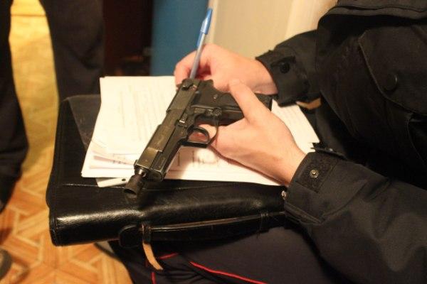 Проверка данных о пистолете