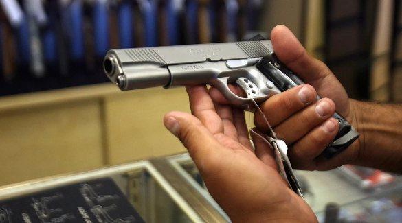 Покупка оружия в магазине