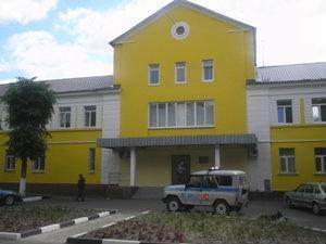 Вход в здание отдела лицензирования