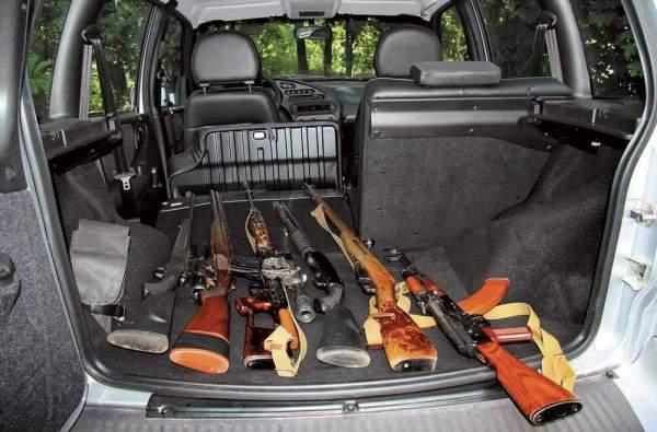 Оружие в багажнике