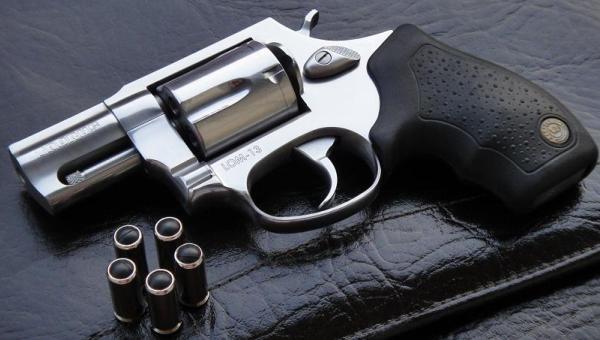 Травмат в виде револьвера