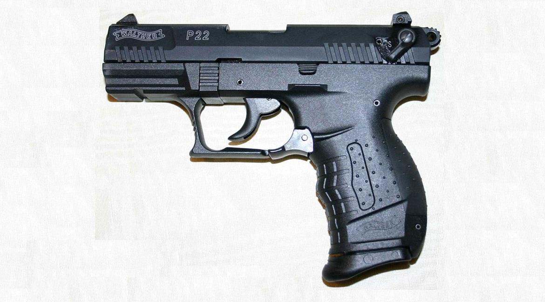 Травматический пистолет Вальтер Р22Т
