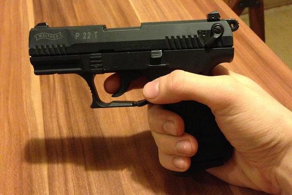 Удобный пистолет