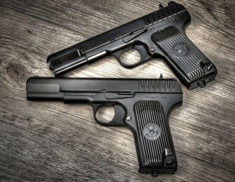 Симпатичные пистолеты