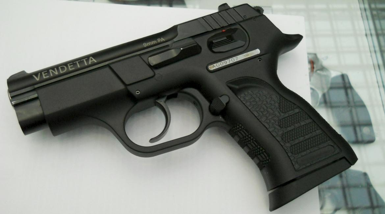 Травматический пистолет Вендетта