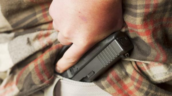 Пистолет без кобуры