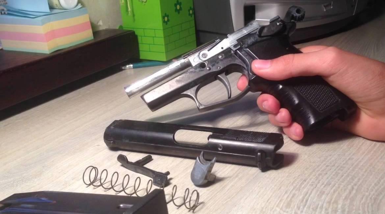 Переделка сигнального пистолета в травматический