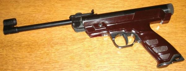 Внешний вид пистолета