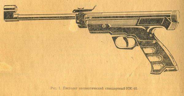 Рисунок оружия
