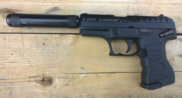 Пистолет Черная птица