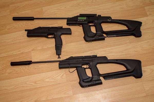 Три вида оружия