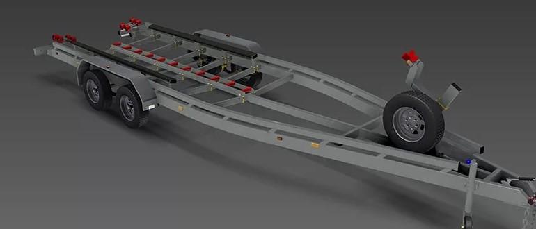 Транспортировка плавательного средства